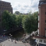 View from our room at Herrengracht