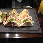 Club sandwich - one of the best you'll be in Glasgow