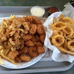 Fisherman's platter! Enough for two