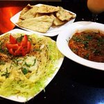 Chilli spice special biryani with lovely curry and naan