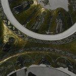 Byzantijs (goud) mozaïek aan het plafond