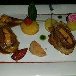 Filet de boeuf angus et foie gras....