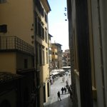 Looking from the hotel towards the Piazza della Signoria