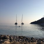 Segelschiffe in der Bucht