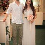 Getting married in Cupid's Wedding Chapel