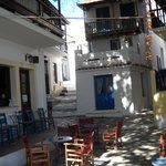 Old town Skopelos