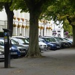 Parking in the square