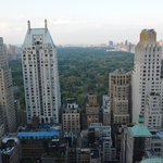 Rooftop view over Central Park