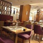 quiet dining room