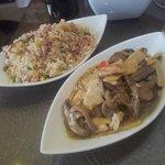 Poulet au Curry / Riz cantonnais