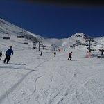 Skiing in Arinsal, Andorra