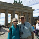 At the Brandenberg Gate