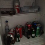 our minibar upon arrival - it stayed like this for duration of stay