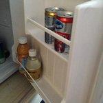 minibar door