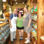 Chef Michael with myself and my husband.  Chef Michael was the BEST!
