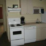 Kitchen in room 222