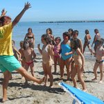 Baby club in spiaggia