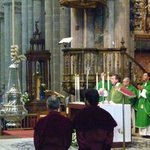 """""""Botafumeiro"""" at the """"Catedral de Santiago"""" in Spain"""