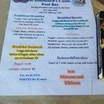 Breakfast Menu--Life's a Breeze at Bluebeard's Castle Pool Bar