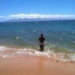 The Beach Next to the Aston Mahana at Kaanapali