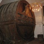 wine cask in castle