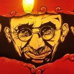 Gandhi artwork