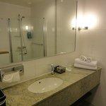 Bathroom vanity - spacious.