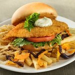 Crispy Fish Sandwich