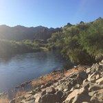 Saguaro lake ranch, river view