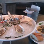 Oysters and escargot