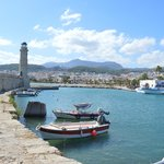 Rethymnon harbour 2 mins from hotel