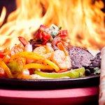 Grilled Flaming Fajitas