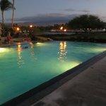 Kolea pool at night
