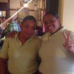 Our lovely waitstaff!!!