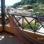 balcón de la habitación!