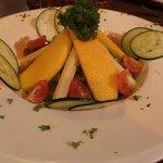 Tropical salad (mangoes)