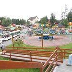 Vue d'une petite partie du parc