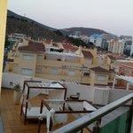 Vistas desde el balcón de la piscina