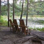 Peaceful sitting area