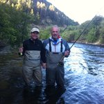 TROUT FISHING ON LOWER PROVO RIVER WITH JUSTIN HARDING