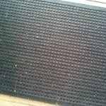dirty mat