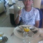 oyster for my starter