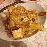 Ottime bucce di patate fritte