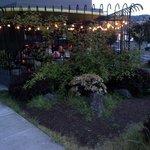 Rum Club patio at dusk