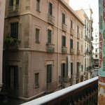 Pensiò vista dal Palau de la Musica Catalana
