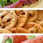 Delicious Sandwiches, Healthy Wraps and Fresh Baked Cookies