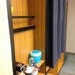Closet/Coffee maker