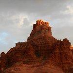 Bell Rock - looks like Rodan or godzilla to me.