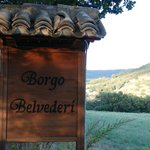 Arriving At The Borgo