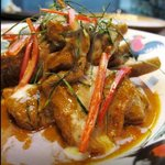 Penang curry with fish!